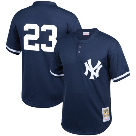 6e051c1b Don Mattingly New York Yankees Mitchell & Ness Cooperstown Collection Mesh  Batting Practice Jersey - Navy - Walmart.com