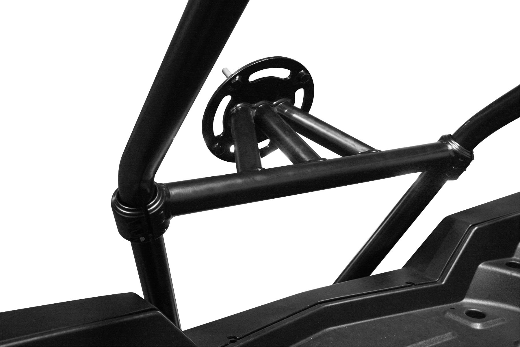 Dragonfire Racing RacePace Black Bed Spare Tire Carrier Mount Polaris RZR 900