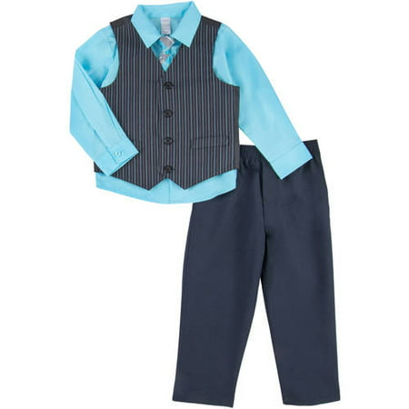 George Toddler Boy Thin Road Stripe Dress Set
