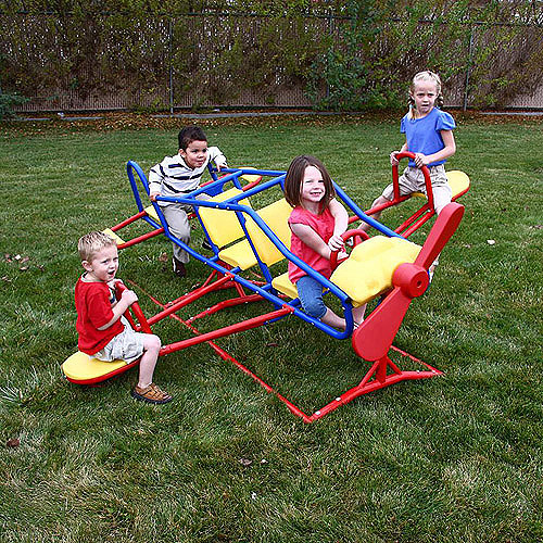 Lifetime Ace Flyer Teeter Totter, Primary Colors, 151110