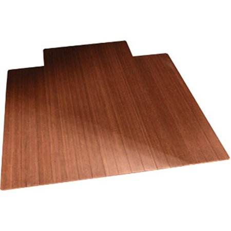 Thick Cherry (36 x 48 Inch Bamboo Roll-Up - 0.25 Inch Thick with 9.25 Inch Tongue - Dark)