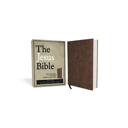 The Jesus Bible, NIV Edition, Imitation Leather, Brown