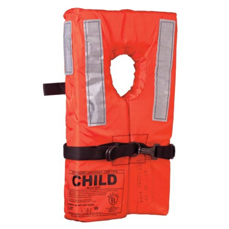 KENT SPORTING GOODS Kent Type I Collar Style Life Jacket Child   100100-200-002-12   by