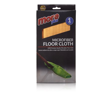 Microfiber Floor Cloth – Cleaning, Washing, Drying, Floor Squeegee, Window, Car, Home Office Streak Free, Lint Free, High Absorent, High Performance, Reusable - 50x80 by Plastible (Pack of (Best Way To Wash Windows Without Streaks)
