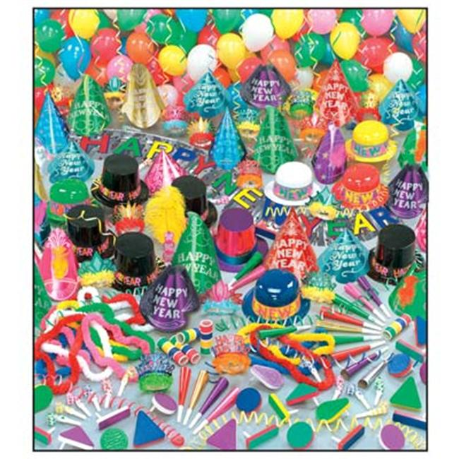 Color Bonanza New Year's Party Kit (For 100 People) - New ...