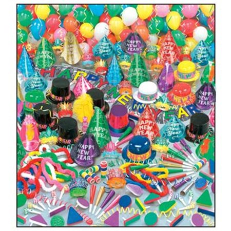 Color Bonanza New Year's Party Kit (For 100 People) - New Year Eve Party Supplies](New Years Eve Decorating)