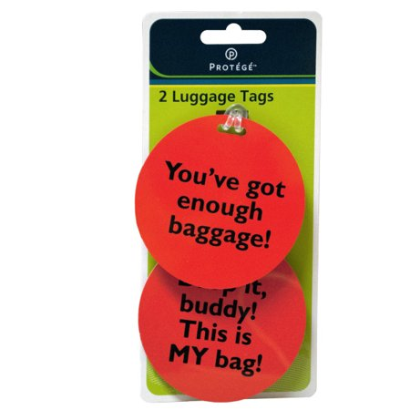 Assorted Fun Phrase Luggage Tags (Pack Of 36) Assorted Fun Phrase Luggage Tags (Pack Of 36)