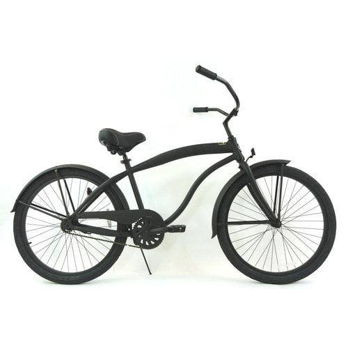 Greenline Bicycles Men's Single Speed Aluminum Beach Cruiser