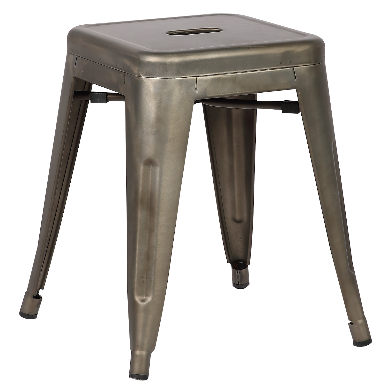"""Poly and Bark Trattoria 18"""" Stool in Bronze"""