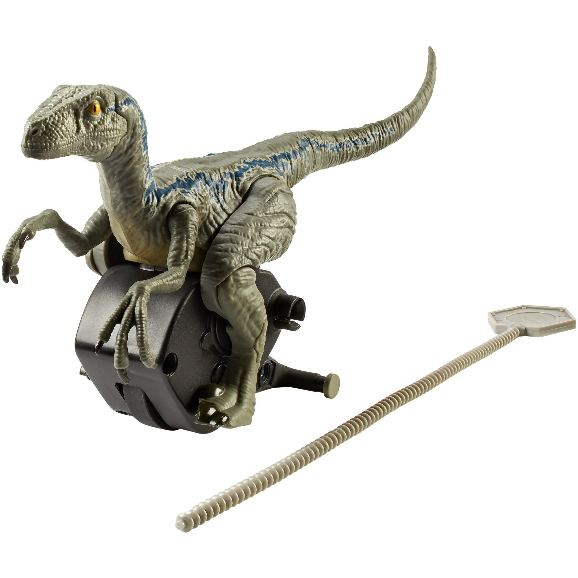 "Jurassic World Rip-run Dinos Velociraptor ""Blue"""