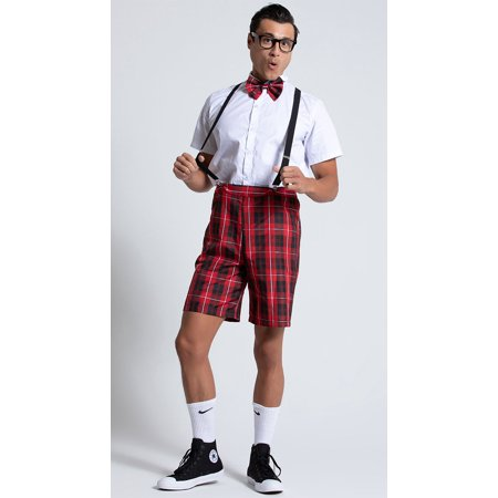 Ideas For Nerd Halloween Costumes (Men's Classroom Nerd Costume, Men's Nerd)