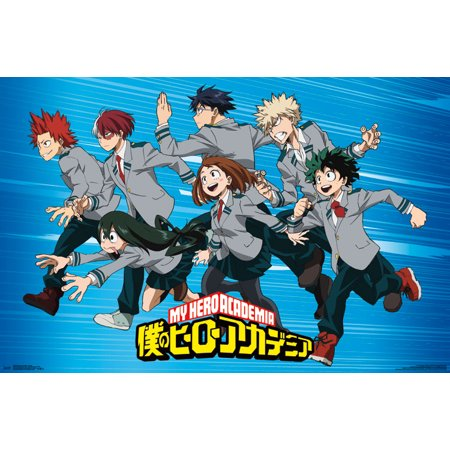 Trends International My Hero Academia Group Wall Poster 22.375