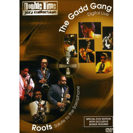 Double Time Jazz Volume 5: Roots / Gadd Gang (DVD) Double Time Jazz Collection