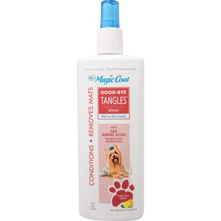 Four Paws Products Ltd-Magic Coat Good-by Tangles- Black 12 Oz