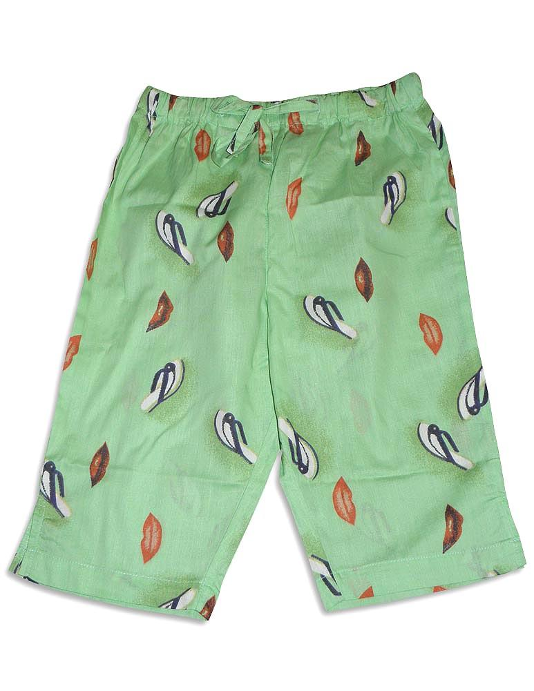 PJ Salvage - Little Girls Pant Lime / 3T
