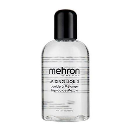 Easy Halloween Makeup Wounds (Mehron Makeup Mixing Liquid (4.5)