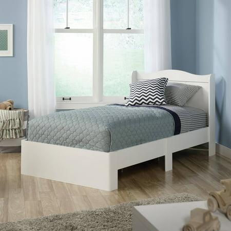 Sauder Storybook Twin Mates Bed  Soft White. Sauder Storybook 3 Piece Bedroom Set  Soft White   Walmart com