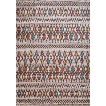 Image of Wildon Home Granada Chocolate/Ivory Area Rug