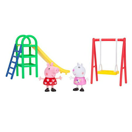 Peppa Pig Fun Peppa Playtime Set, Playground - Pep Peppa Pig
