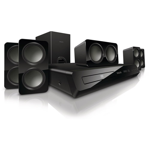Philips HTS3531/F7 5.1-Channel DVD Home Theater System