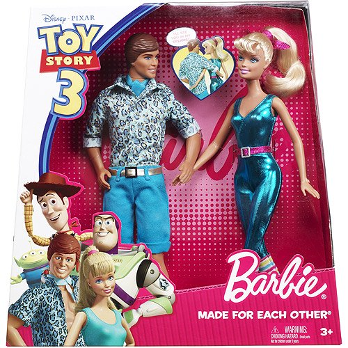 660730f76c94a Barbie Toy Story 3 Made For Each Other Gift Set - Walmart.com