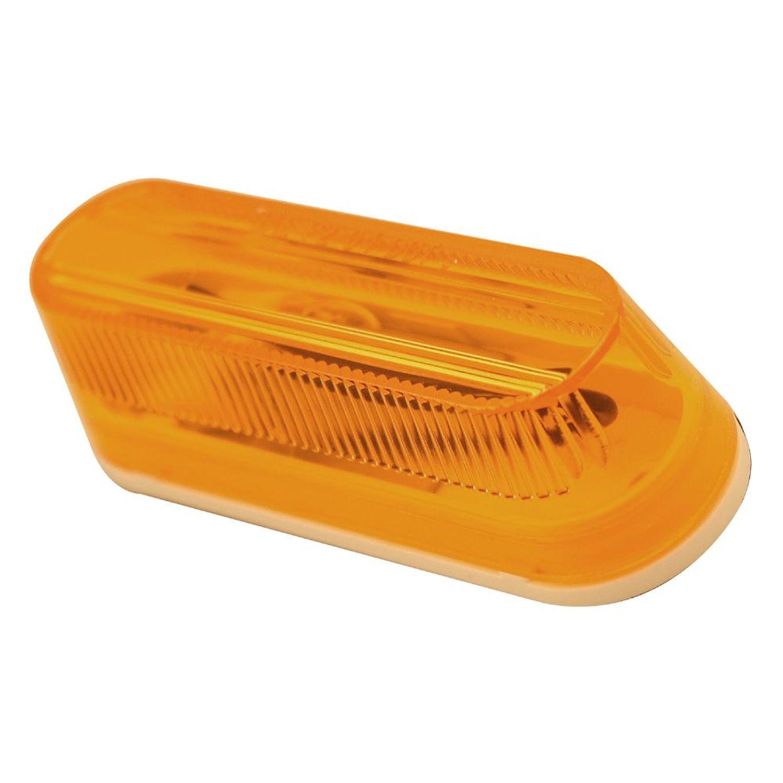 Pilot Automotive NV-5075 12 Volt 12 Piece Running Board Light Kit-Amber Size: 3-1/2 x 1 x 1-3/16
