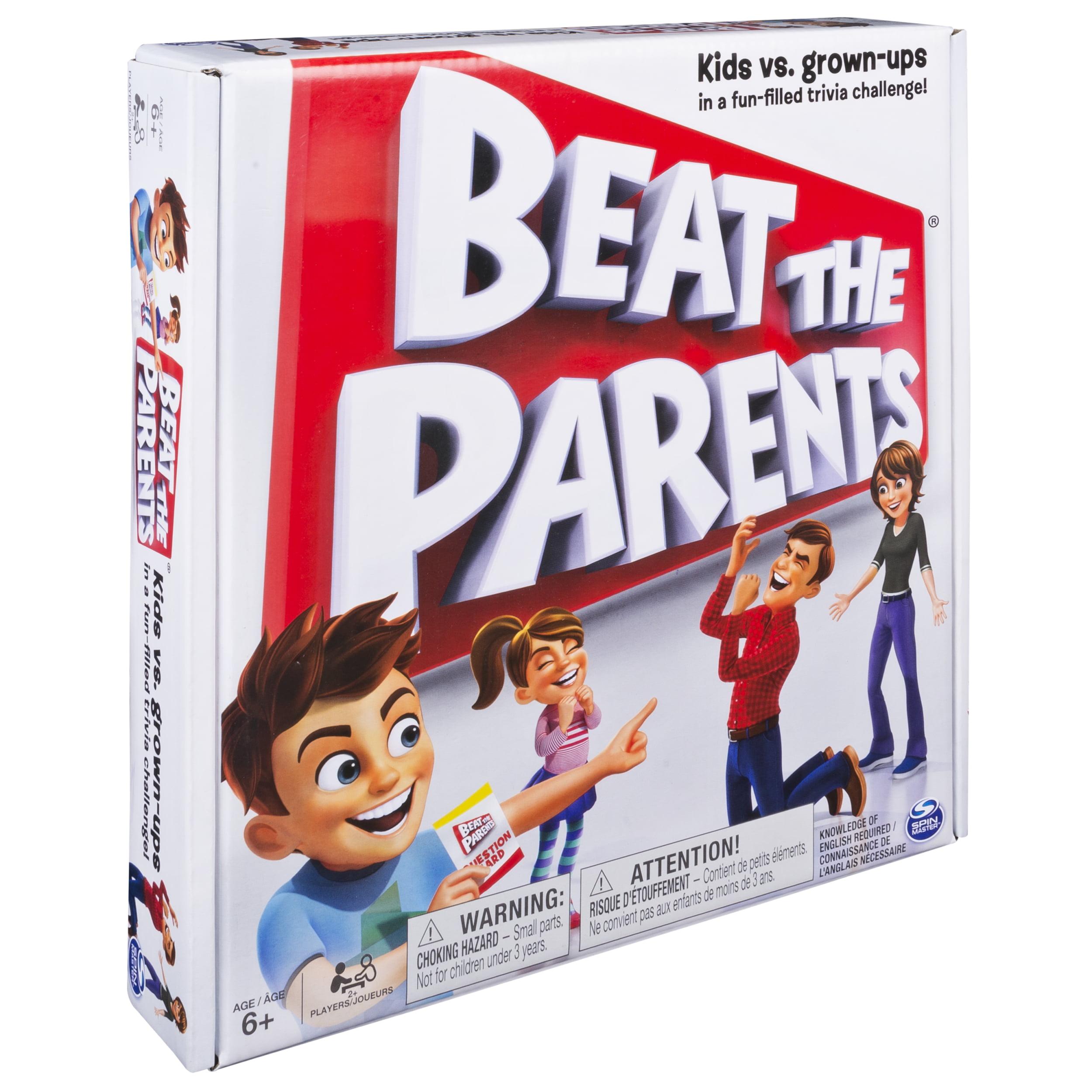 Spin Master Games - Beat The Parents - Walmart.com
