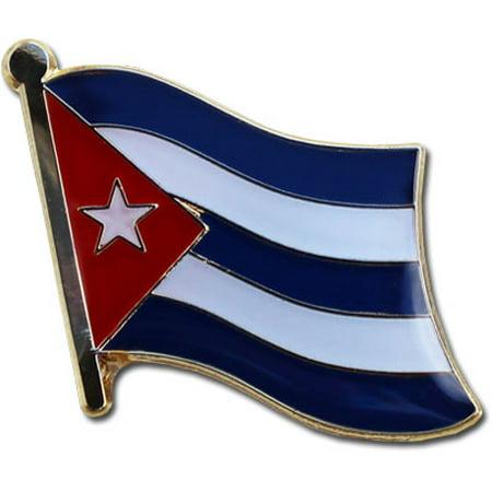 Cuba Flag Lapel Pin