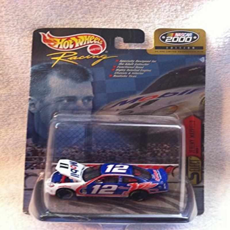 Mattel HOT WHEELS RACING Nascar 2000 EDITION JEREMY MAYFIELD #12 MOBILE 1 FORD TAURUS... by