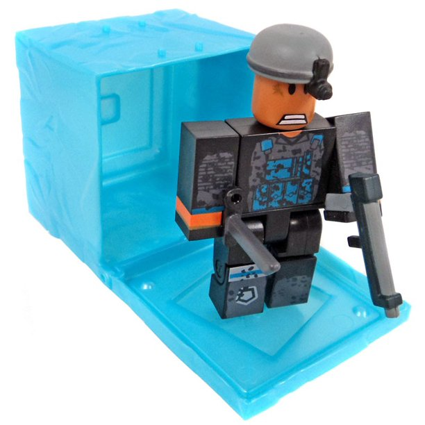 Roblox Red Series 3 Phantom Forces Phantom Mini Figure Blue Cube