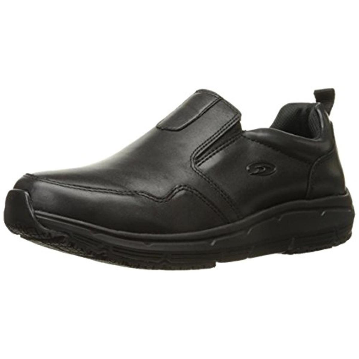 dr scholl s mens beta leather slip resistant work shoes