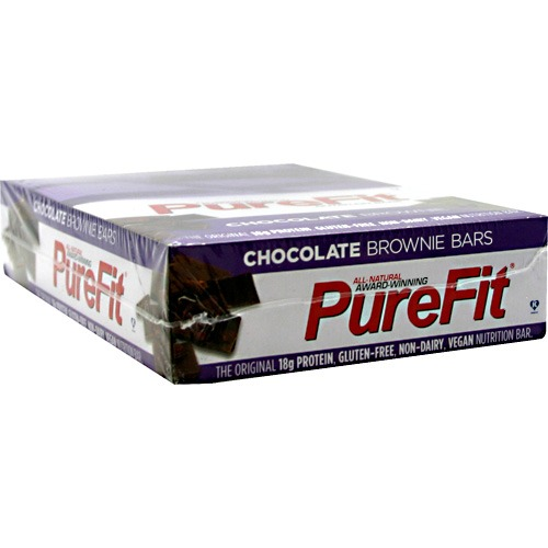 Nutrition Bar Gluten free - Chocolate Brownie - Box PureFit 15 Bars 1 Box
