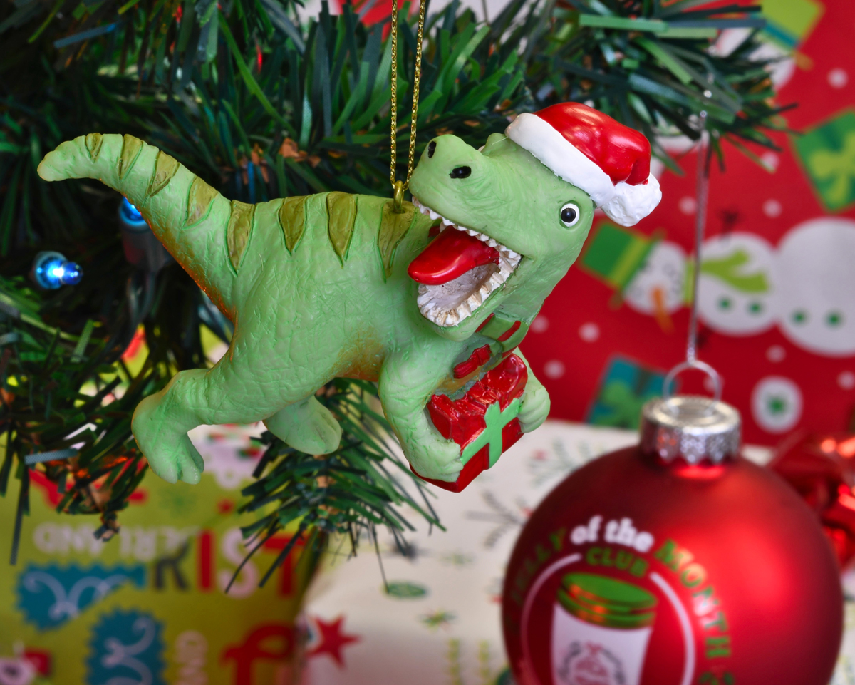 Tree Buddees Xmas Rex Christmas T Rex Dinosaur Ornament Walmart Com Walmart Com