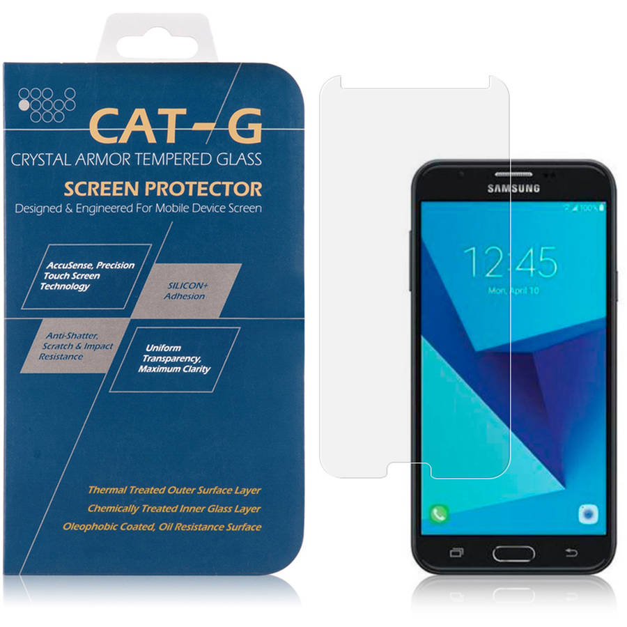 Tempered Glass Screen Protector for Samsung Galaxy J7 (J7 Perx, J7 Sky Pro, J7 V; 2017), Perfect Fit
