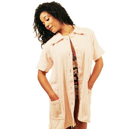 53ca451d7e NDK New York - NDK New York Women's Terry Cloth Swimsuit Cover-up ( 100%  Cotton ) - Walmart.com