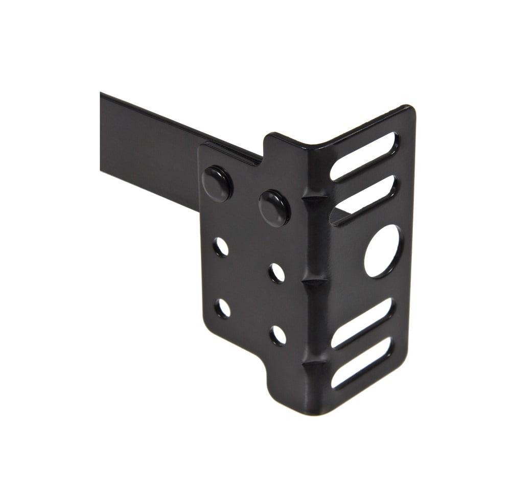 BCP Adjustable Metal Bed Frame w// Locking Wheels