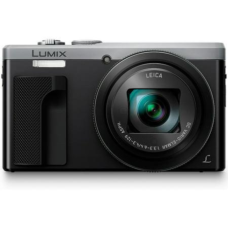 Panasonic ZS60 LUMIX 4K 18 MP Digital Camera with Wi-Fi - Silver