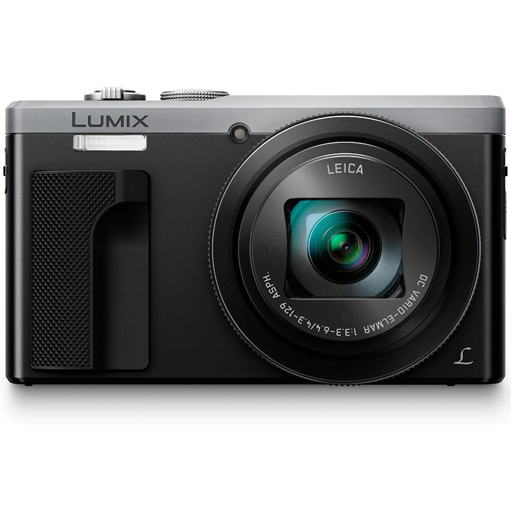 Panasonic ZS60 LUMIX 4K 18 MP Digital Camera with Wi-Fi - Silver (DMC-ZS60S)