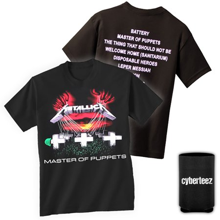 Metallica T-Shirt Master Of Puppets T-Shirt + Coolie