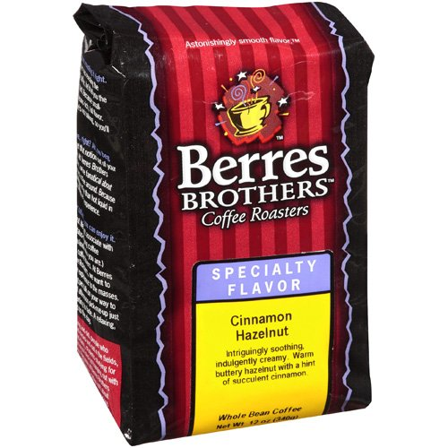 Berres Brothers Coffee Roasters Specialty Flavor Cinnamon Hazelnut Whole Bean Coffee, 12 oz