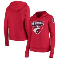 FC Dallas 5th & Ocean by New Era Women's Brushed Fleece Pullover Hoodie - Red