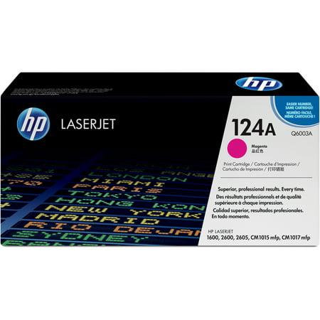 HP, HEWQ6003A, 124A LaserJet Toner Cartridges, 1 Each (Hp Laserjet P2035 Toner)