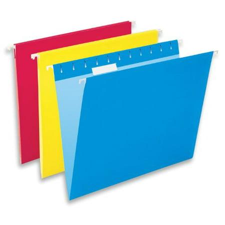 Esselte Hanging Folders 10 Count Assorted