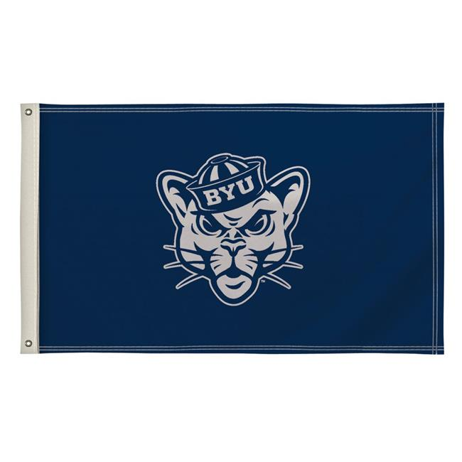 Victory Corps 810003BYU-002 3 x 5 ft. Brigham Young Cougars NCAA Flag - No.002