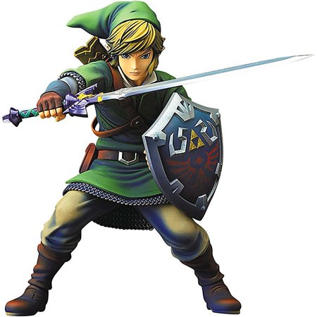 Legend of Zelda Skyward Sword Link PVC Figure Statue](Legend Of Zelda Sword)