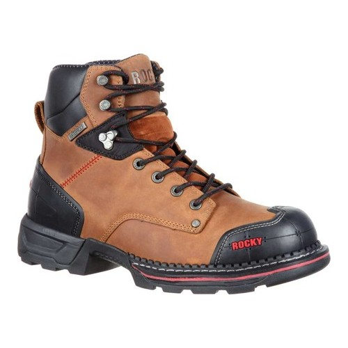 "Men's Rocky 6"" Maxx Composite Toe Waterproof Work Boot RKK0210 by Rocky"