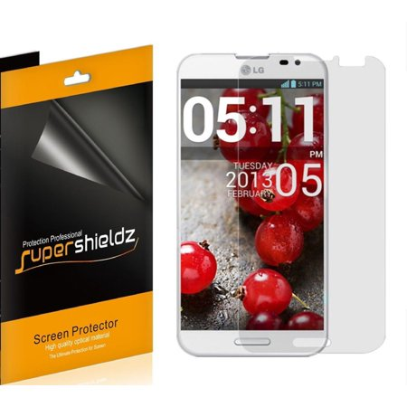 [6-Pack] Supershieldz for LG  Optimus G Pro E980 (AT&T)  Screen Protector, Anti-Bubble High Definition (HD) Clear Shield ()
