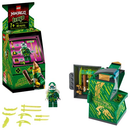 LEGO NINJAGO Lloyd Avatar - Arcade Pod 71716 Mini Arcade Machine Building Kit (48 Pieces)