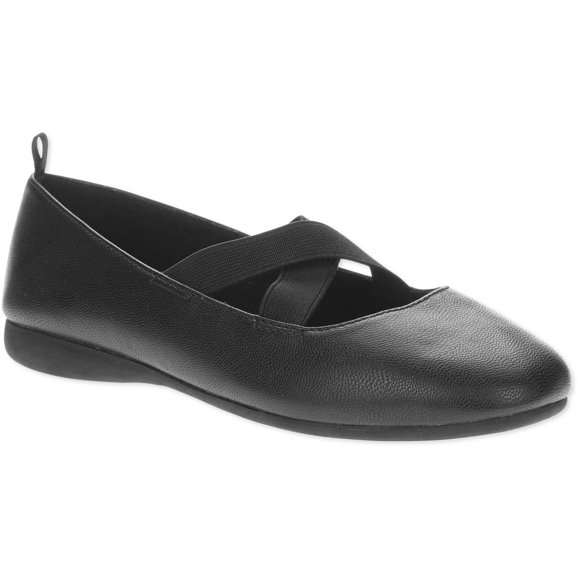 Faded Glory Girls' Basic Flat Casual Shoe