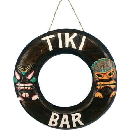 RAM Game Room Tiki Bar Ring Outdoor Wall Art